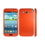 Snooky 20526 Mobile Skin Sticker For Samsung Galaxy Grand Quattro 8552 - Orange