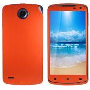 Snooky 20698 Mobile Skin Sticker For Lenovo S920 - Orange