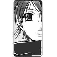 Snooky 42582 Digital Print Mobile Skin Sticker For Micromax Canvas Fire 2 A104 - Grey