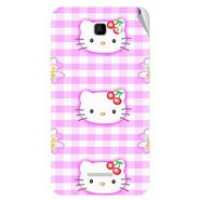 Snooky 42613 Digital Print Mobile Skin Sticker For Micromax Canvas XL2 A109 - Pink