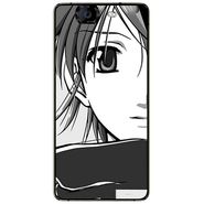 Snooky 42780 Digital Print Mobile Skin Sticker For Micromax Canvas Knight A350 - Grey