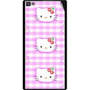 Snooky 42833 Digital Print Mobile Skin Sticker For XOLO 8X 1000 Hive - Pink