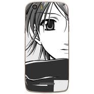 Snooky 43022 Digital Print Mobile Skin Sticker For Xolo Q700s - Grey