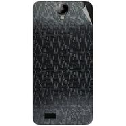 Snooky 43176 Mobile Skin Sticker For Intex Aqua Amaze - Black