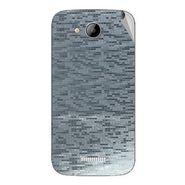 Snooky 43265 Mobile Skin Sticker For Intex Aqua i5 - silver