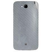 Snooky 43302 Mobile Skin Sticker For Intex Aqua i15 - silver