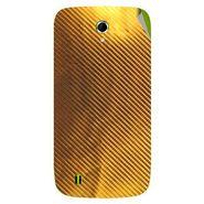 Snooky 43329 Mobile Skin Sticker For Intex Aqua N4 - Golden