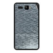 Snooky 43433 Mobile Skin Sticker For Intex Aqua R3 - silver