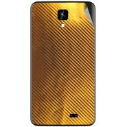 Snooky 43557 Mobile Skin Sticker For Intex Aqua Y2 Ips - Golden