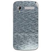 Snooky 43601 Mobile Skin Sticker For Intex Cloud Y12 - silver