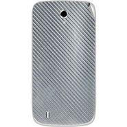 Snooky 43662 Mobile Skin Sticker For Intex Cloud Y4 Plus - silver
