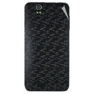 Snooky 43812 Mobile Skin Sticker For Lava Iris selfie 50 - Black