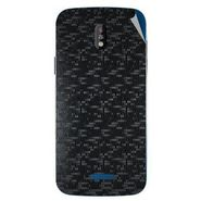 Snooky 43836 Mobile Skin Sticker For Lava Iris 450 - Black