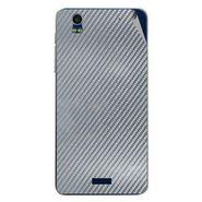 Snooky 43878 Mobile Skin Sticker For Lava Iris Pro 20 - silver