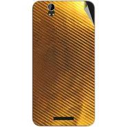 Snooky 43905 Mobile Skin Sticker For Lava Iris X1 Grand - Golden