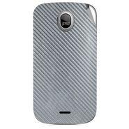 Snooky 43986 Mobile Skin Sticker For Micromax Ninja A89 - silver
