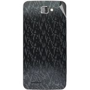 Snooky 44052 Mobile Skin Sticker For Micromax Canvas Mad A94 - Black
