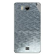 Snooky 44177 Mobile Skin Sticker For Micromax Canvas Doodle A111 - silver