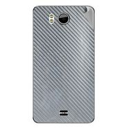 Snooky 44178 Mobile Skin Sticker For Micromax Canvas Doodle A111 - silver