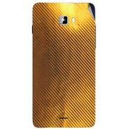 Snooky 44313 Mobile Skin Sticker For Micromax Canvas Nitro A311 - Golden
