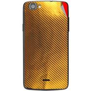 Snooky 44529 Mobile Skin Sticker For Xolo One - Golden