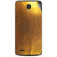 Snooky 44577 Mobile Skin Sticker For Xolo Q700 - Golden