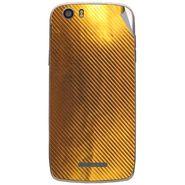 Snooky 44589 Mobile Skin Sticker For Xolo Q700s - Golden