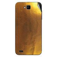 Snooky 44601 Mobile Skin Sticker For Xolo Q800 - Golden