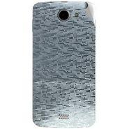 Snooky 44645 Mobile Skin Sticker For Xolo Q1000 - silver