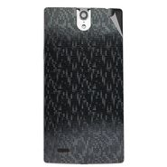 Snooky 44664 Mobile Skin Sticker For Xolo Q1010i - Black
