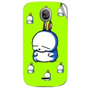 Snooky 46014 Digital Print Mobile Skin Sticker For Micromax Ninja A89 - Green