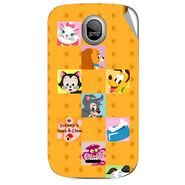 Snooky 46016 Digital Print Mobile Skin Sticker For Micromax Ninja A89 - Yellow
