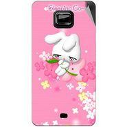 Snooky 46105 Digital Print Mobile Skin Sticker For Micromax Ninja A91 - Pink
