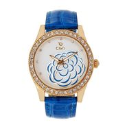 Chappin & Nellson Analog Round Dial Watch For Women_Cnl50w78 - Blue & White