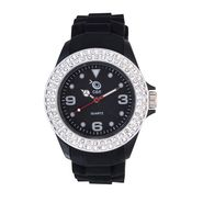 Chappin & Nellson Analog Round Dial Watch For Women_Cnp1w35 - Black