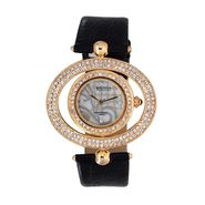 Exotica Fashions Analog Round Dial Watch For Women_Efl15w3 - White & Grey