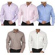 Pack of 5 Fizzaro Full Sleeves Cotton Shirts For Men_Fs1056789