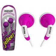 Maxell EBBL Jelleez Earbubs - Purple