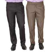 Pack of 2 Formal Trousers For Men_Tr1434