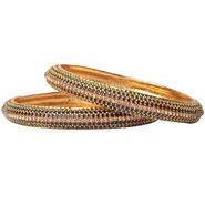 Set of 2 Pourni Studded Bangles_Prbg08