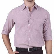 Mind The Gap Full Sleeves Shirt For Men_S7169 - White & Purple