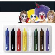 Face Paint Retractable Crayon Set