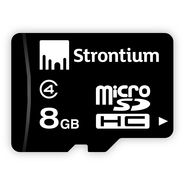 Strontium 8 GB MicroSD Card Class 6 24 MB/s Memory Card