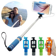 ShutterBugs Selfie Stick For All Smartphones (Multicolor)