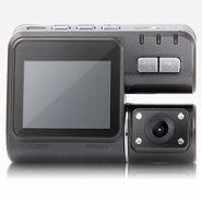 ZINGALALAA HD 720P Dual Lens IR Night Vision Car DVR Camera Dash Cam Video Recorder Motion Detection