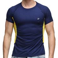Effit Half Sleeves Round Neck Tshirt_Etsprnnvo - Navy