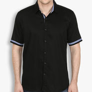 Stylox Cotton Shirt_blckhfp034 - Black