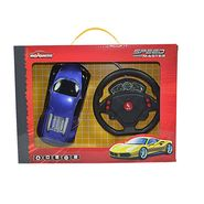 Majorette Speed Master Car with Gravity Sensor Steering Wheel Blue Bugatti