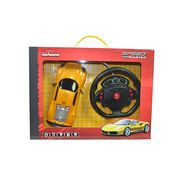 Majorette Speed Master Car with Gravity Sensor Steering Wheel Yellow Ferrari