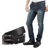 Stylox Jeans With Belt_Dnb2342023